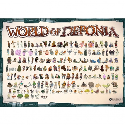 Motiv: Poster - Din A0 World of Deponia