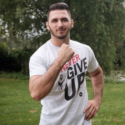 Motiv: T-Shirt Premium FAIR WEAR - NeverGiveUp