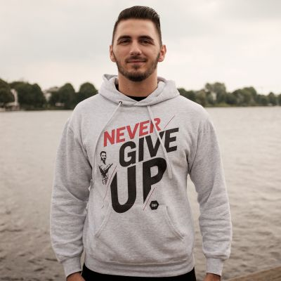 Motiv: Hoodie Classic - NeverGiveUp