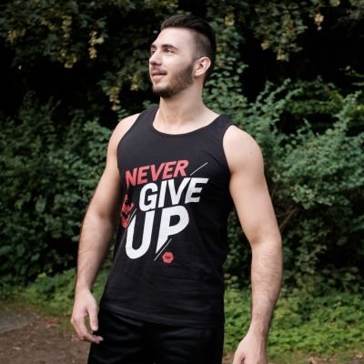 Motiv: Athletic Vest - NeverGiveUp