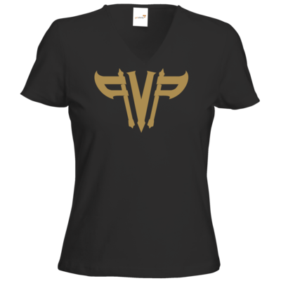 Motiv: T-Shirt Damen V-Neck Classic - Elitepvpers PVP gold