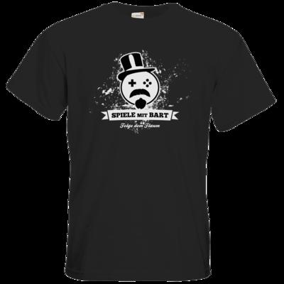 Motiv: T-Shirt Premium FAIR WEAR - Spiele mit Bart