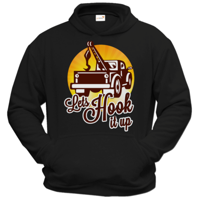 Motiv: Hoodie Classic - Lets Hook up
