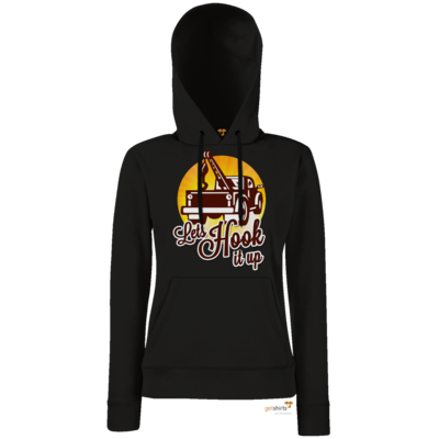 Motiv: Lady Hoodie Classic - Lets Hook up