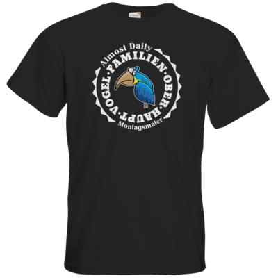 Motiv: T-Shirt Premium FAIR WEAR - Familienoberhauptvogel