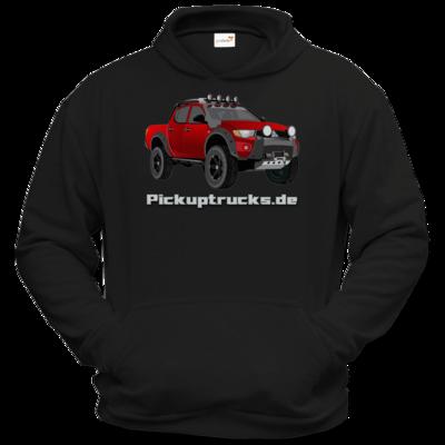 Motiv: Hoodie Classic - Pickuptrucks L200 rot