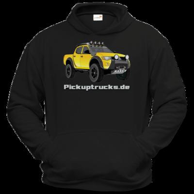 Motiv: Hoodie Classic - Pickuptrucks L200 gelb