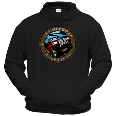 Motiv: Hoodie Classic - Offroad Adventure