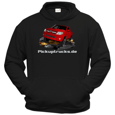 Motiv: Hoodie Classic - Hilux rot