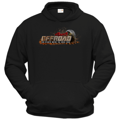Motiv: Hoodie Classic - 4x4 Offroad