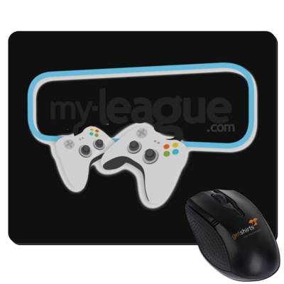 Motiv: Mousepad Textil - My League Logo