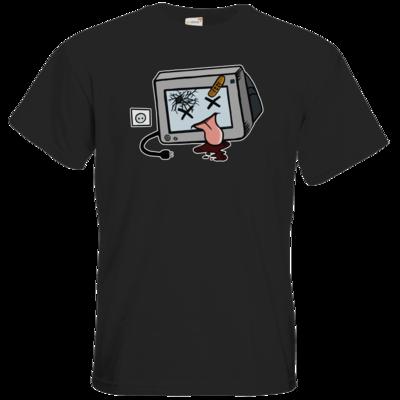 Motiv: T-Shirt Premium FAIR WEAR - TV kaputt