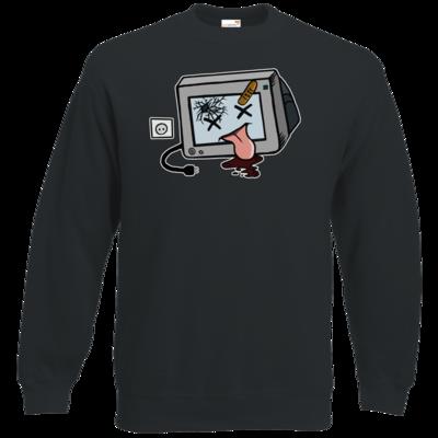 Motiv: Sweatshirt Set In - TV kaputt
