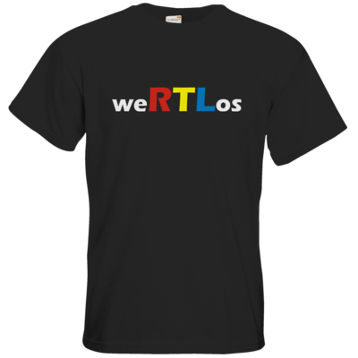 Motiv: T-Shirt Premium FAIR WEAR - weRTLos