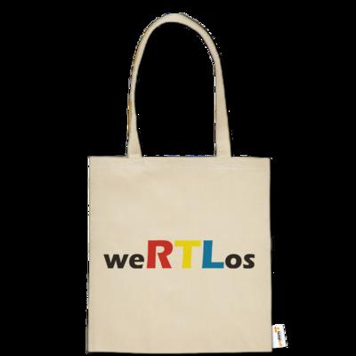 Motiv: Baumwolltasche - weRTLos