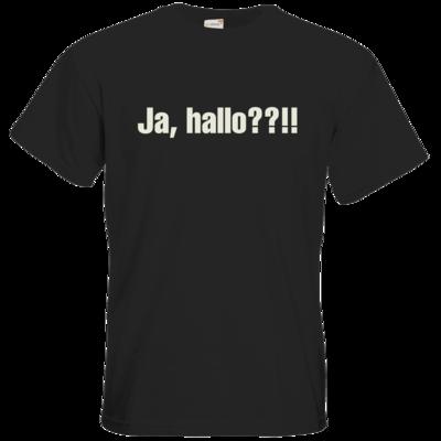 Motiv: T-Shirt Premium FAIR WEAR - ja hallo