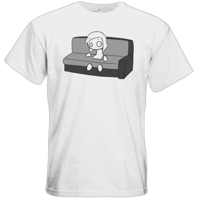 Motiv: T-Shirt Premium FAIR WEAR - DarkViktory Couch Woman