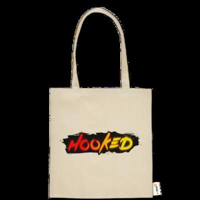 Motiv: Baumwolltasche - Hooked Logo