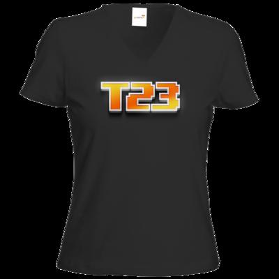 Motiv: T-Shirt Damen V-Neck Classic - Timetodrei
