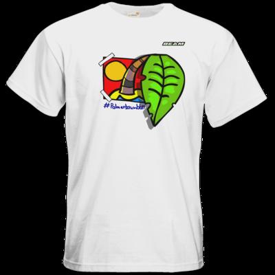Motiv: T-Shirt Premium FAIR WEAR - Palmenbaumblatt