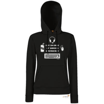 Motiv: Lady Hoodie Classic - Gaming Emergency