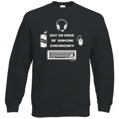 Motiv: Sweatshirt Set In - Gaming Emergency