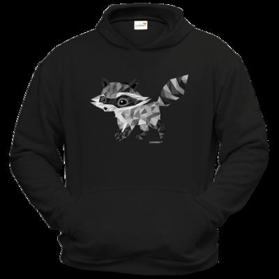 Motiv: Hoodie Classic - Raccoonus Triangle