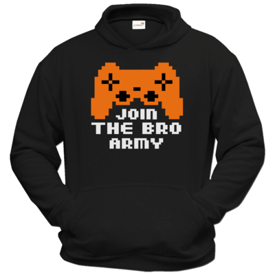 Motiv: Hoodie Classic - Join the Bro Army