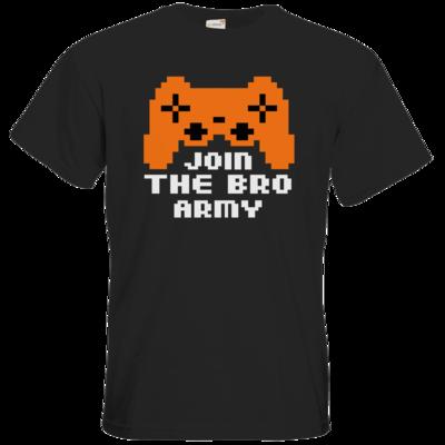Motiv: T-Shirt Premium FAIR WEAR - Join the Bro Army