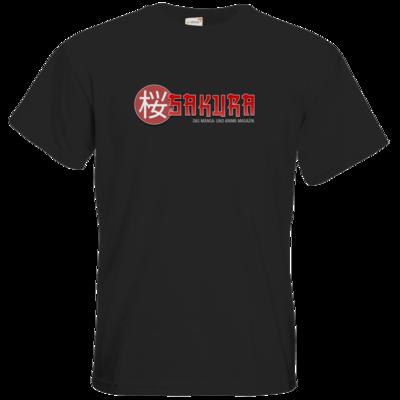Motiv: T-Shirt Premium FAIR WEAR - Sakura Logo