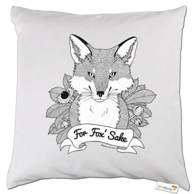 Motiv: Kissen - For Fox Sake