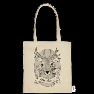 Motiv: Baumwolltasche - Oh Deer