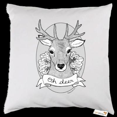 Motiv: Kissen - Oh Deer