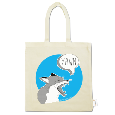 Motiv: Baumwolltasche - What the Fox says