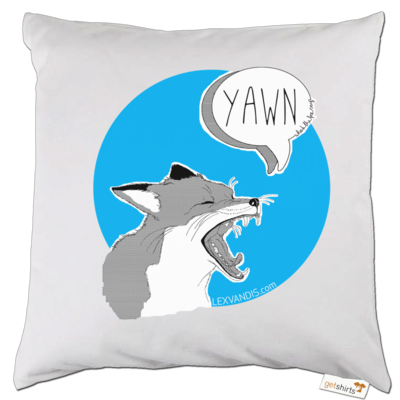 Motiv: Kissen - What the Fox says