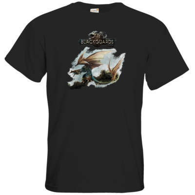 Motiv: T-Shirt Premium FAIR WEAR - Blackguards - Flightdragon
