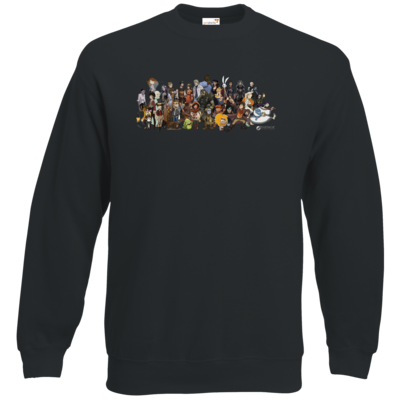 Motiv: Sweatshirt Classic - Daedalic Allstars - Collage