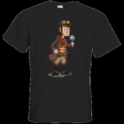 Motiv: T-Shirt Premium FAIR WEAR - Deponia - Pixelrufus