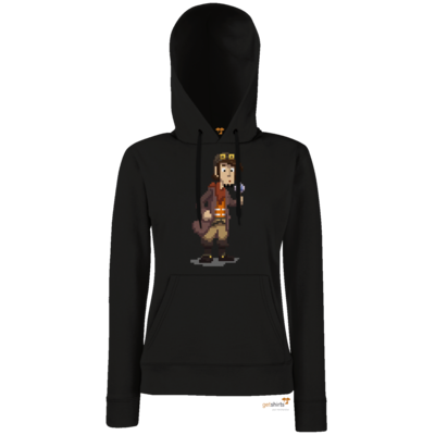 Motiv: Lady Hoodie Classic - Deponia - Pixelrufus