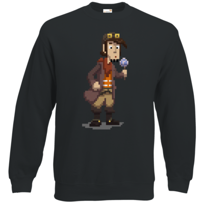 Motiv: Sweatshirt Classic - Deponia - Pixelrufus