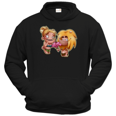 Motiv: Hoodie Classic - Fire - Happy Mothers Day