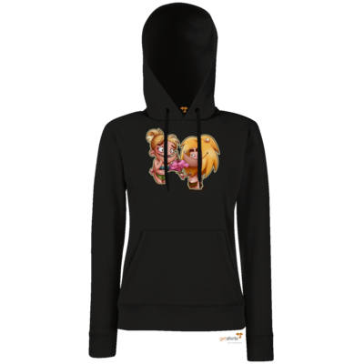 Motiv: Lady Hoodie Classic - Fire - Happy Mothers Day