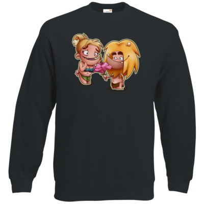 Motiv: Sweatshirt Classic - Fire - Happy Mothers Day