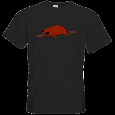 Motiv: T-Shirt Premium FAIR WEAR - Deponia - Feuerschnabeltier