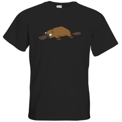 Motiv: T-Shirt Premium FAIR WEAR - Deponia - Erdschnabeltier