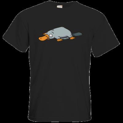 Motiv: T-Shirt Premium FAIR WEAR - Deponia - Luftschnabeltier