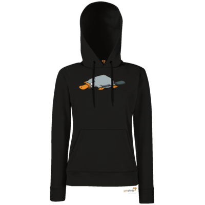 Motiv: Lady Hoodie Classic - Deponia - Luftschnabeltier