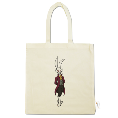 Motiv: Baumwolltasche - The Night of the Rabbit - Marquis