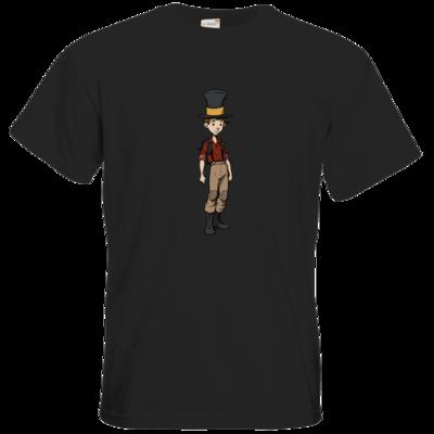 Motiv: T-Shirt Premium FAIR WEAR - The Night of the Rabbit- Jerry