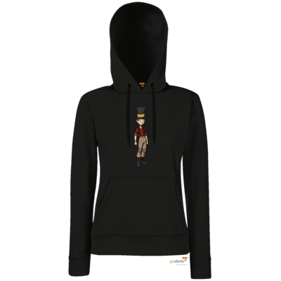 Motiv: Lady Hoodie Classic - The Night of the Rabbit- Jerry